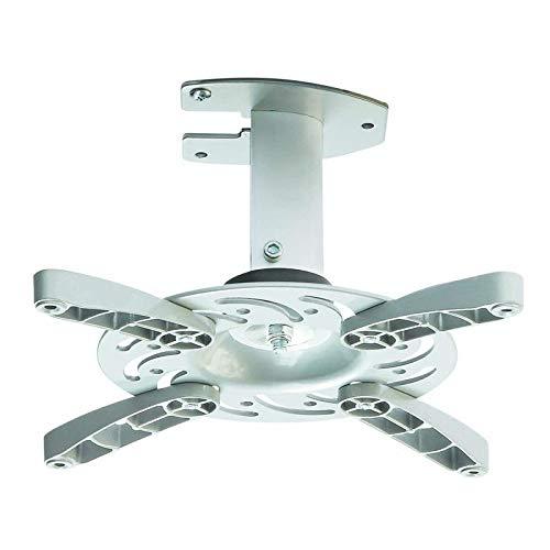 Soporte de techo para proyector en blanco inclinable 30° girable 360° para LG PV150G