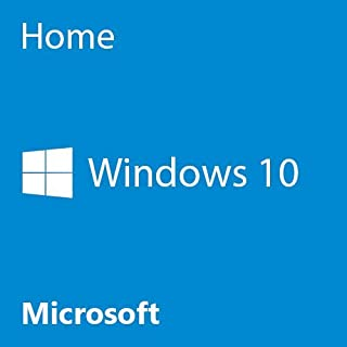Microsoft OEM Windows 10 Home, 64-Bit, 1-Pack, DVD