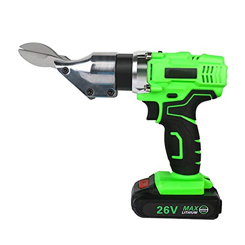 Check Out This 26V 3000Mah Electric Scissor, Portable Cordless Rechargeable Metal Sheet Shear Cutter...