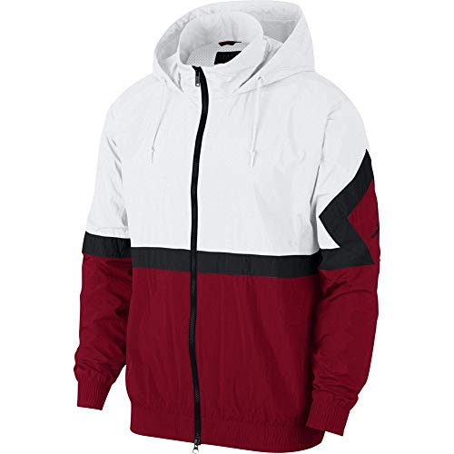 Jordan Sportswear Diamond Track Cortavientos Hombre Blanco XL (X-Large)