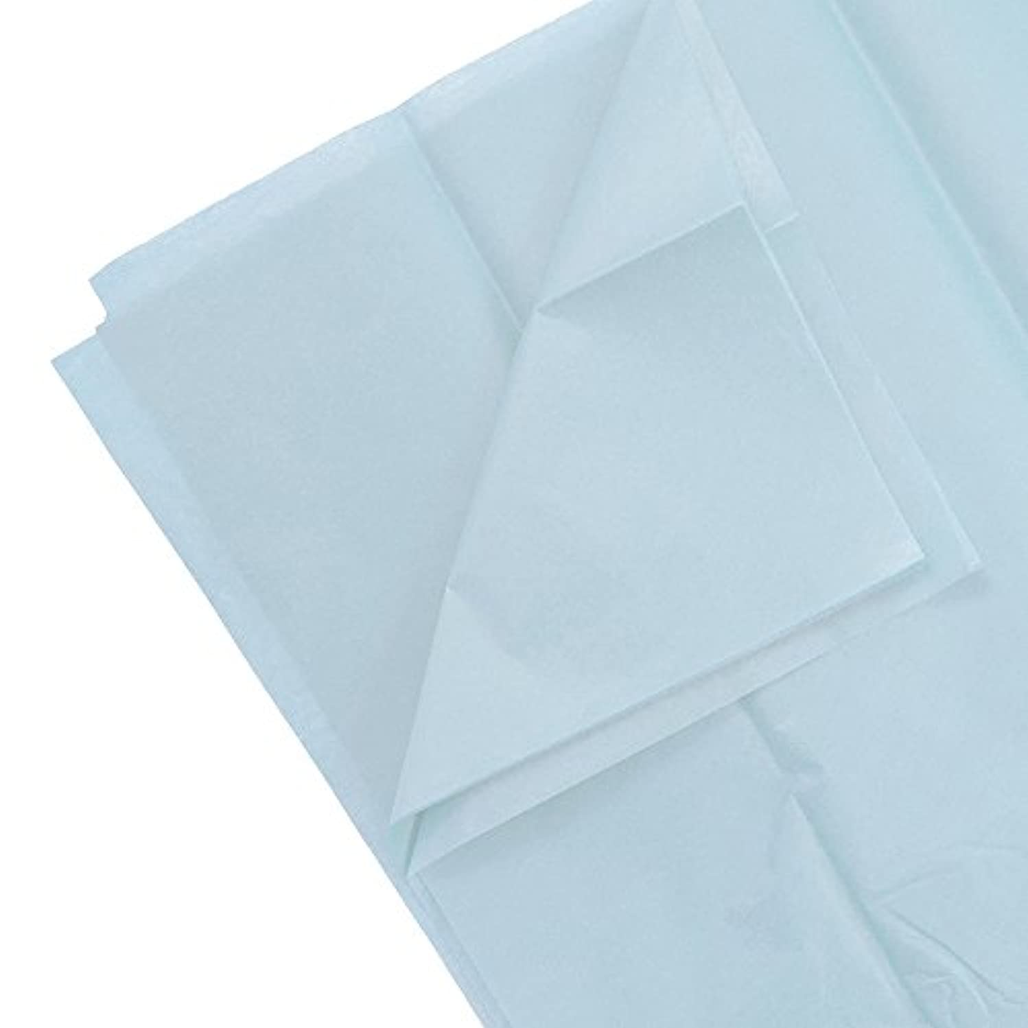 JAM PAPER Tissue Paper - Baby Blue - 10 Sheets/Pack