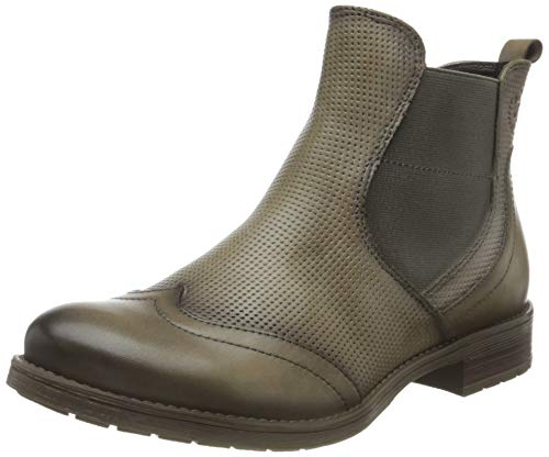 bugatti Damen Ronja Eco Stiefelette, Light Grey, 39 EU
