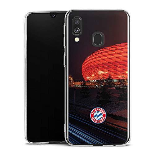 DeinDesign Hülle kompatibel mit Samsung Galaxy A40 Handyhülle Case FCB Stadion FC Bayern München