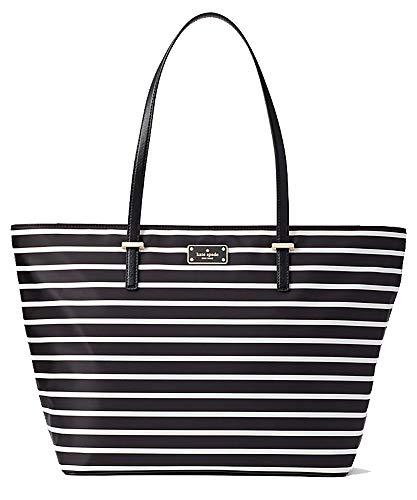 Kate Spade New York Wilson Road Margareta Shoulder Bag (French Stripe - Black Multi)