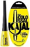 Maybelline New York Colossal Bold Eyeliner, Black, 3G And Maybelline New York Colossal Kajal, Black, 0.35G
