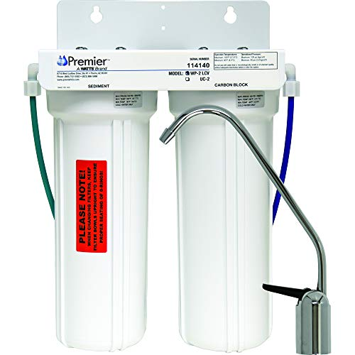 Watts Premier WP500313 2-Stage Undercounter Lead, Cyst & VOC Reducing Drinking Water System