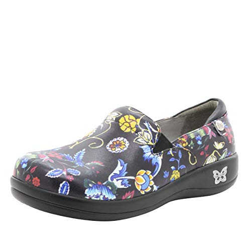Alegria Keli Womens Slip-On Shoe Norwegian Would 6 M US