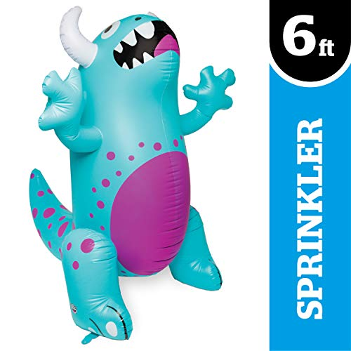 BigMouth Inc. Ginormous Inflatable Cute Monster Yard Summer Sprinkler, Stands Over 6 Feet Tall, Perfect for Summer Fun