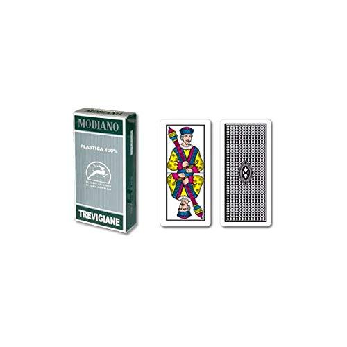 Tavoloverde Carte da Gioco Trevigiane 89/90 Modiano Plastica
