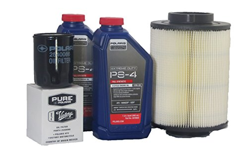 2008-2014 Rzr 800, Efi/Eps All Options Genuine Polaris Extreme Duty Oil Change and Air Filter Kit