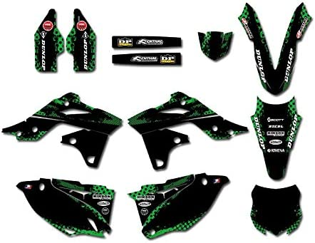 0460 Popular product Power Team Graphics Backgrounds Decals Stickers Direct store Kits for