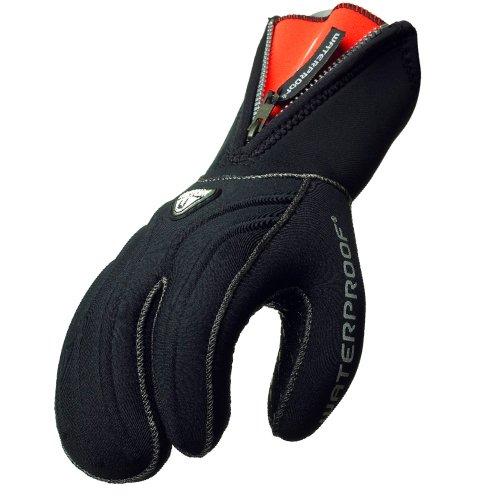 Waterproof - G1 7mm 3-Finger Semidry mit Zipp Neoprenhandschuhe