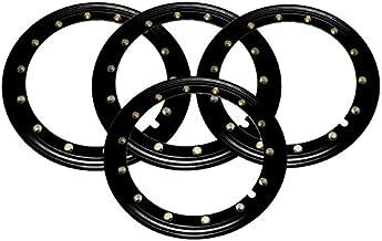 BILLET4X4 Simulated Beadlock Rings 15 inch - Black (Set of 4)