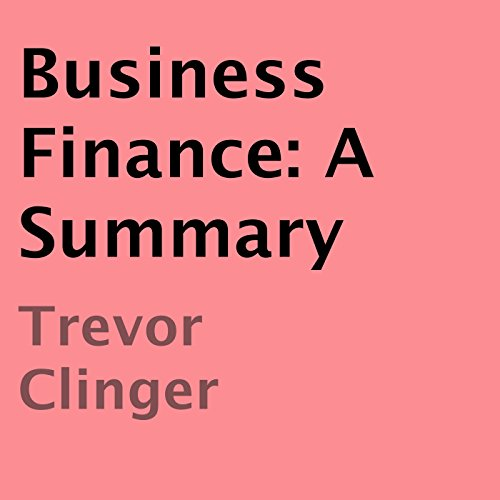 Business Finance audiobook cover art