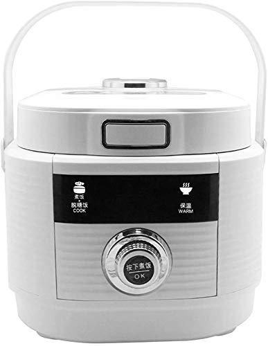Reiskocher programmierbarer digitaler Mini-Dampfer 3-Liter niedriger Entfernung Zucker Multi-Stew Smart Grain Maker Health Edelstahl Instant Halten Sie es warm mit Dampfspülkorb