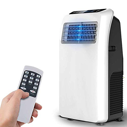 Lapden Portable Air Conditioner, Portable AC with Dehumidifier for Rooms up to 200 Sq.Ft, 3-in-1 with Remote Control, 8000 BTU, Full Window Installation Exhaust Kit