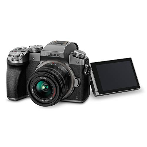 41usBAKbzVL - PANASONIC Lumix G7 4K Digital Mirrorless Camera Bundle with Lumix G Vario 14-42mm and 45-150mm Lenses, 16MP, 3-Inch Touch LCD, DMC-G7WK (USA Black)