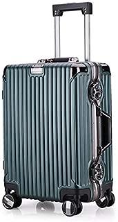 Cabin Hardshell Luggage Spinner 4 Wheels Black TSA Lock,Green,20in