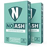 Nicotine Patches to Quit Smoking 21 Clear Patches of 21mg | NOASH Stop-Smoking Transdermal Patches for 24 Hour Withdrawal Relief Smoking Cessation Aid (2 Pack - 42 Patches)
