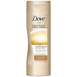 Loción autobronceadora Dove para piel