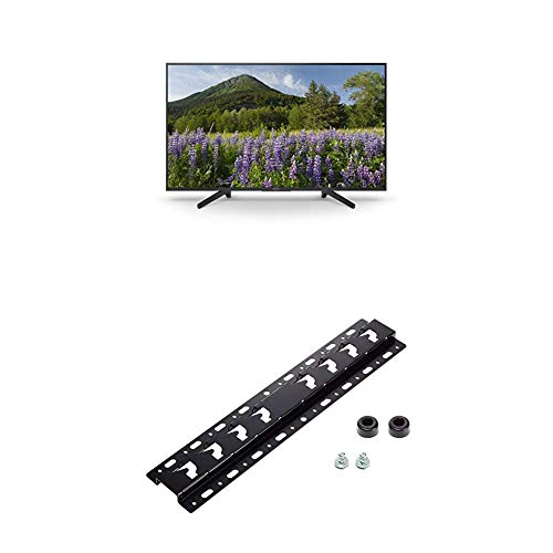 Sony KD-65XF7004 164 cm (65 Zoll) Fernseher (4K HDR, Ultra HD) + Wandhalterung für Bravia TVs (2019, 2018, 2017, 2016, 2015)