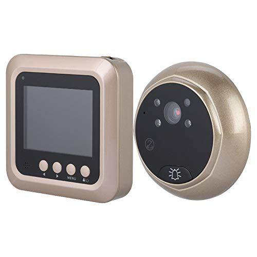 Intelligente elektrische deurbel, 2,4 inch, 1080 p, draadloze digitale veiligheid deurspion