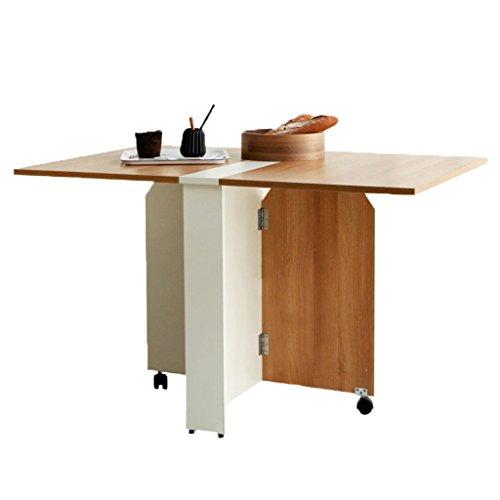 Computertische Tische Klapptische Kleine Esstische im Haushalt Einfache einziehbare Tische Rechtecktische Multifunktionsmöbel Cliptische Schreibtische & Workstations