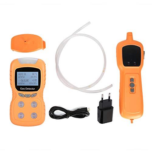 Monitor de Gas, Detector de Gas portátil, químico confiable a Prueba de Polvo Integrado repetible para refinación(European regulations)