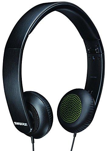 Shure SRH144-A Semi-Open Portable Collapsible Headphones (Black)