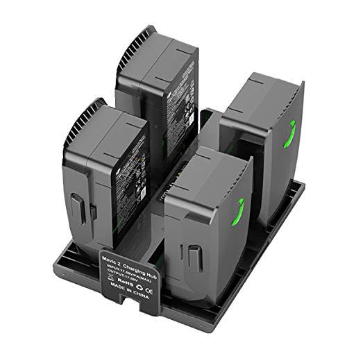 STARTRC Zubehör für DJI Mavic 2 Pro / Zoom 4 In 1 Intelligente Schnellbatterie mit Ladeanzeige LCD-Anzeige