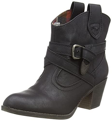 Rocket Dog Women's Satire Cowboy Boots, Black Lewis, 5 UK