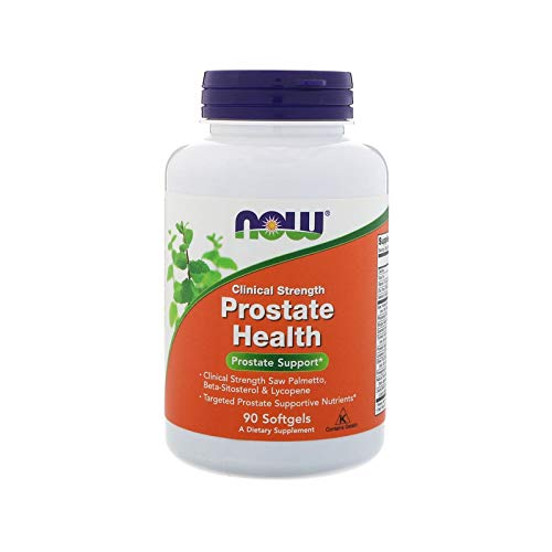 NOW Supplements, Prostate Health, Clinical Strength Saw Palmetto, Beta-Sitosterol & Lycopene, 90 Softgels