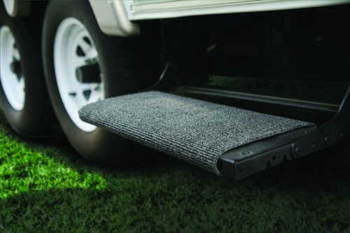 "Camco 42925-A Gray 18 Inch 42925 18"" Rv Step Rug-Grey"