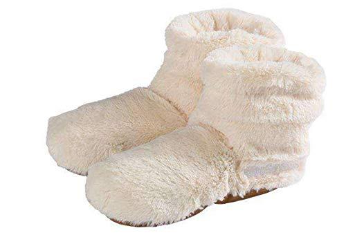 Warmies Slippies Boots Deluxe beige, Gr. 37-42