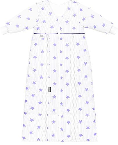 Odenwälder Schlafsack Prima Klima Thinsulate mit Arm stars soft violett 70-90 cm