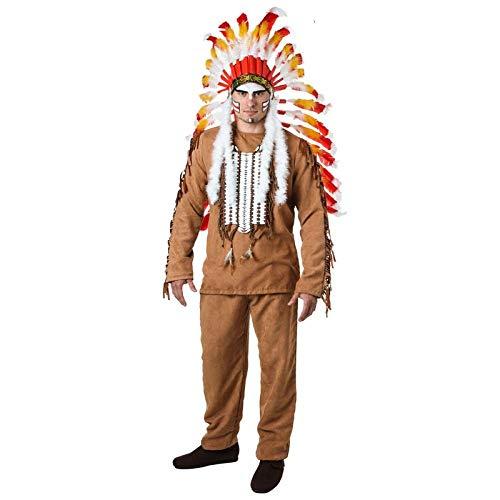 Cosplay Kostüm Erwachsene Männer Village People Cosplay Kleidung Halloween Aufwändige Feder Kopfbedeckung Kostüm Kostüm Party Ballkleid Einzigartiges Kostüm A XL