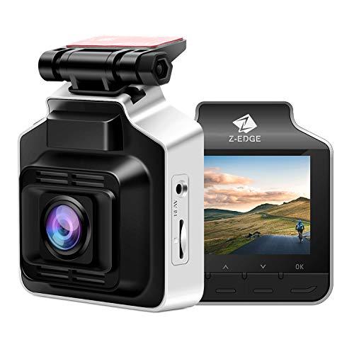 Z-Edge Dash Cam GPS HD 1440P Car Dashboard Camera, 2.4 inch LCD screen 150 Wide Angle Lens Built-in G-Sensor Parking Monitor