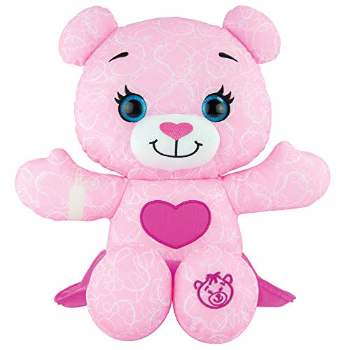 Doodle Bear The Original 14ʺ Plush Toy with 3 Washable Markers - Fashion, Pink