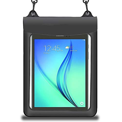 Universal 10.1 inch Swimming Tablet Dry Bag Waterproof Pouch Case for Samsung Galaxy Note 10.1 / Tab 3 10.1 / TabPRO 10.1 / Tab A 9.7 / Tab A 10.1 / Tab A (2016) with S Pen/iPad 9.7 2018/9.7 iPad