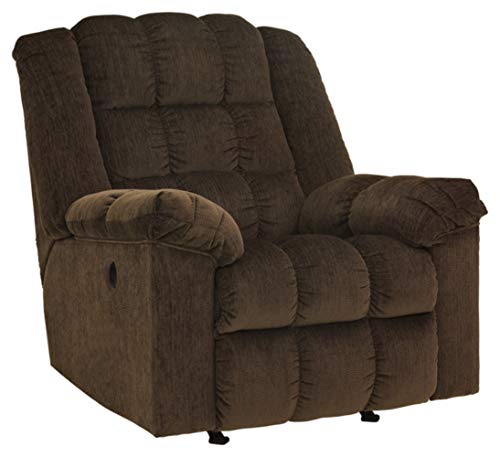 Signature Design by Ashley Ludden Power Rocker Recliner Cocoa