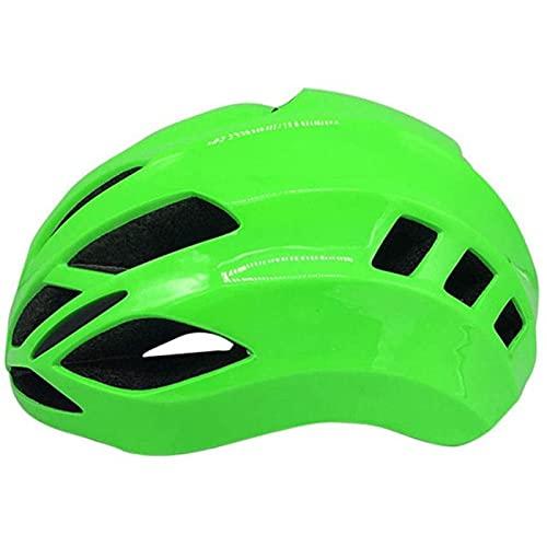 SONG Casco de Bicicleta de Montaña, Protector de Seguridad Transpirable Cómodo Ultraligero Ajustable para Casco de Bicicleta de Ciclismo para Adultos para Mujeres y Hombres,Green