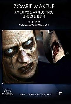 Zombie Makeup - Appliances Airbrushing Lenses & Teeth