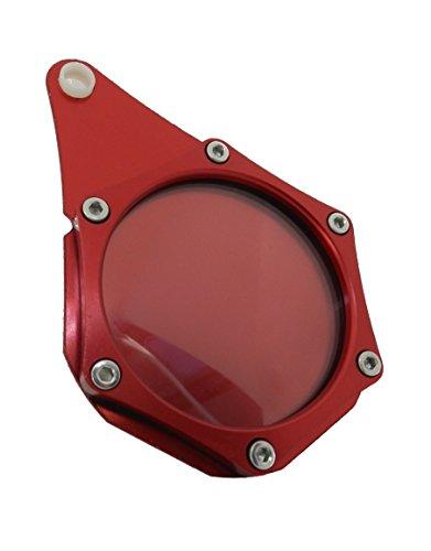 Hopin.Plakettenhalter für aus Aluminium Wasserdicht Motorrad/Scooter/Quad