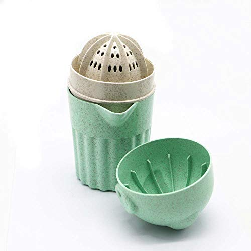 ZLMC Manual Juicer ,Fruit Juicer,Squeezer Hand Juicer,with Strainer and Container,Creative Kitchen Tools