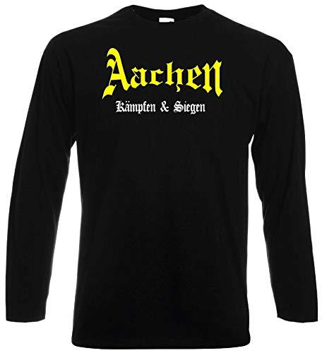 world-of-shirt / Aachen Ultras Kämpfen & Siegen Longsleeve