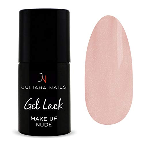 Juliana Nails - Gel Lack MakeUp - 6ml/15ml - 4 Farben - UV/LED (6ml, Make Up Nude)