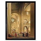 Saenredam The Transept of The Mariakerk In Utrecht Art