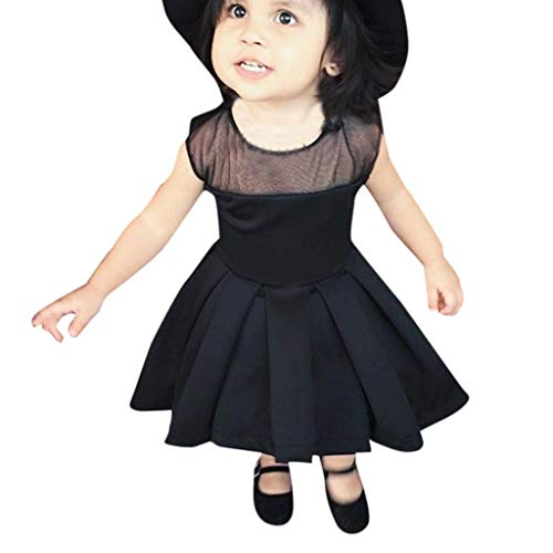 Luoluoluo jurk meisjes 3-24 maanden tutu jurk kanten jurk zwart jurk asymmetrisch prinsessenjurk babyparty meisjes kostuums geschenk babykleding doopkleding bruidsmeisjesjurk