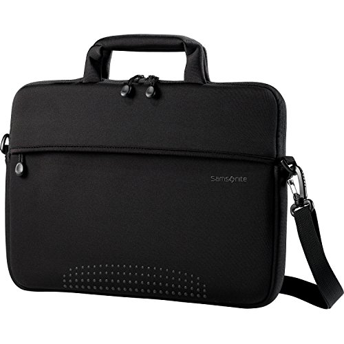 Samsonite Aramon Laptop Shuttle, Black, 14-Inch