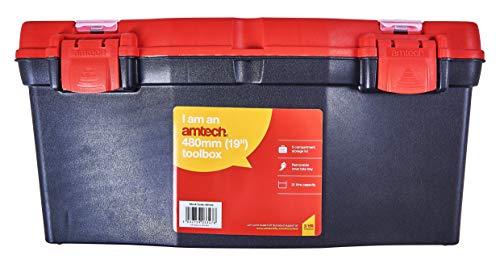 Am-Tech 19 pulgadas caja de herramientas N0140